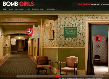 Bomb Girls Interactive